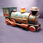 collectable metal train toys